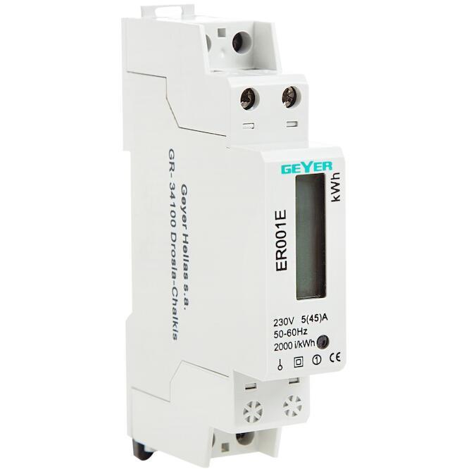 Μετρητής ενέργειας ηλεκτρονικός 1Φ 5(45)Α ER001E