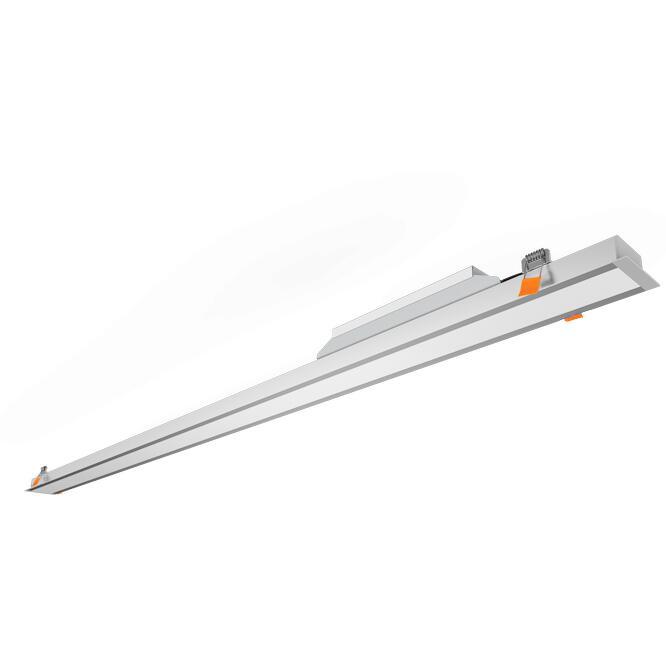 Φωτιστικό LED Line 40W 3000K 4000lm 1.2m γκρί LLRT-1.2WD