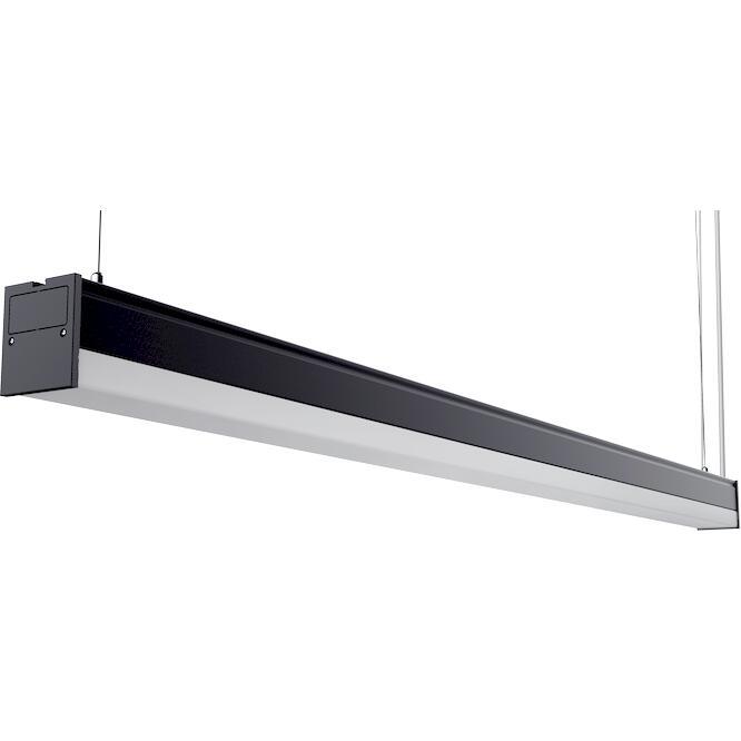 Φωτιστικό LED Line 30W 3000K 3750lm 1.2m μαύρο LLUT-1.2WDB