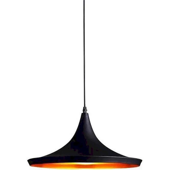 Φωτιστικό Iron E27 360x170 καλώδιο 2.5m μαύρο PBP3625E27