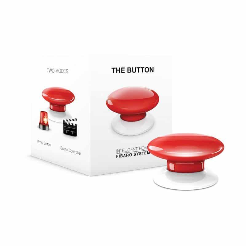 FIBARO The Button (άσπρο) – HomeKit