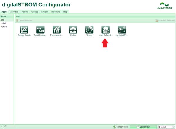 Αρχική Σελίδα digitalSTROM Configurator